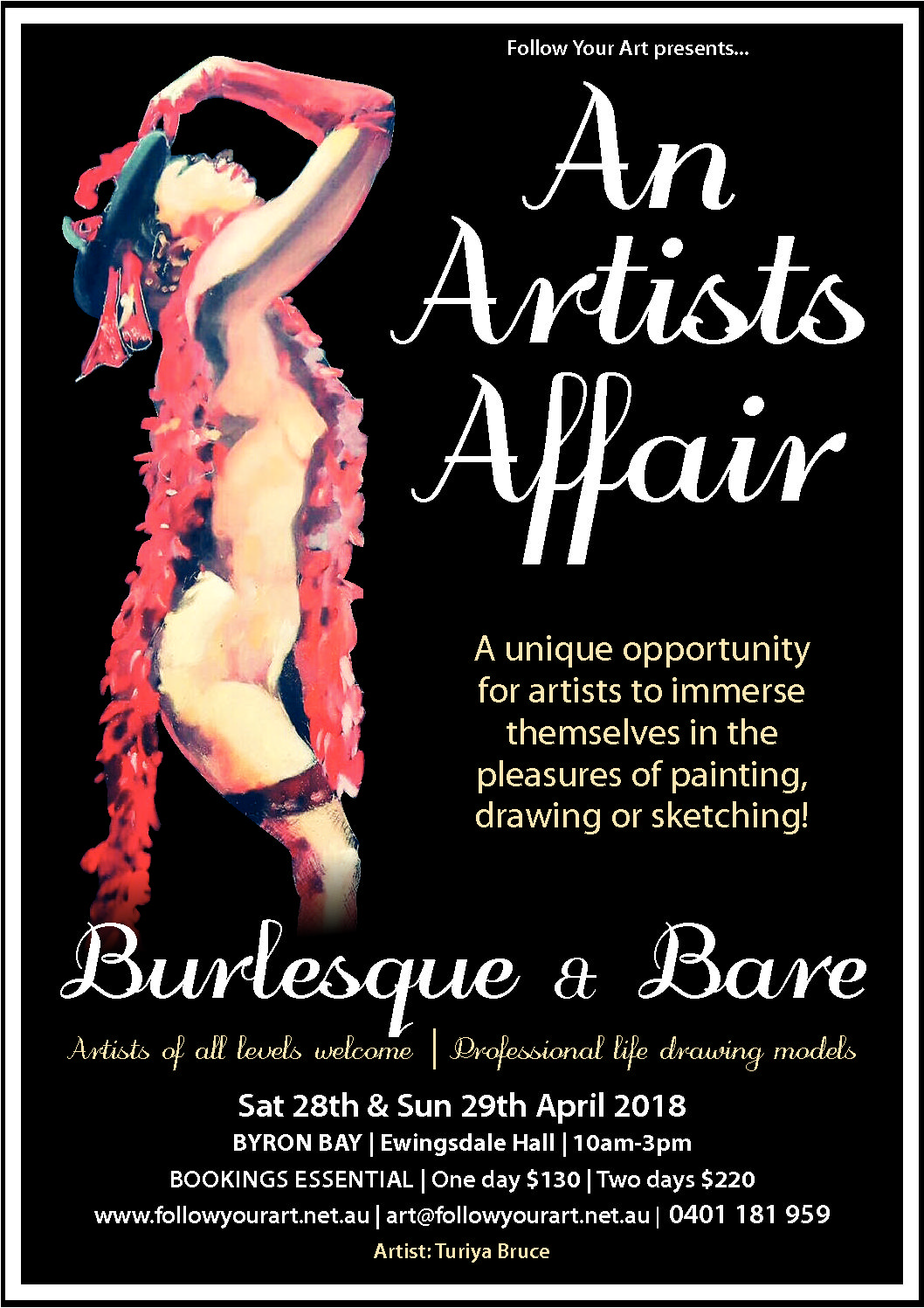 Byron Bay Artists event